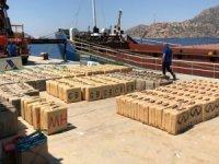 Türk polisinden uluslararası sularda dev narkotik operasyonu