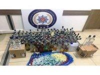 Aydın'da otele kaçak içki operasyonu; 5 gözaltı