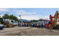 Nazilli Belediyesi yağış hazırlıklarını tamamladı