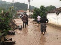 Alaplı'da sel felaketi hayatı felç etti