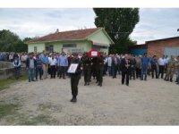 Kıbrıs Gazisi Hüseyin Subutay son yolculuğuna uğurlandı