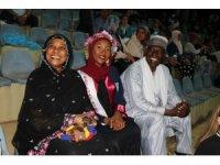 Çadlı aile kızının mezuniyetini görmek için 14 bin kilometre uzaklıktan geldi