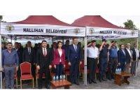 Şehitler Anıtı Çeşmesi Nallıhan'da törenle açıldı