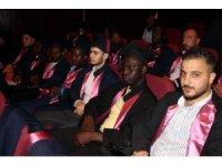 69 ülkeden 261 öğrenci mezun oldu