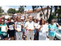 Çevreciler Datça kıyılarındaki işgaliyelere dikkat çekti