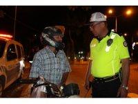 Kula'da motosiklet denetimleri aralıksız devam ediyor