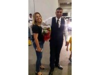 Cani koca eşini öldürmeden önce havalimanından çiçeklerle almış