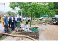 Başkan Söğüt, selin yaşattığı mağduriyetleri yerinde inceledi