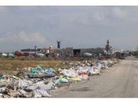 Karaman Belediyesi kaçak olarak dökülen hafriyat atıklarını temizledi