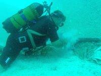 Fethiye'de deniz dibi temizliği yapıldı