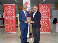 Karaman'da hakim ve savcılar için veda yemeği düzenlendi