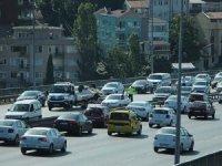 İstanbul'da köprü trafiğini felç eden kaza!
