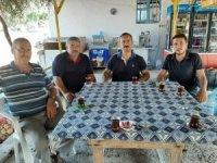 Kaymakam Taşdan'dan terör gazisi Eldeniz'e ziyaret