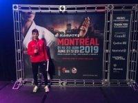 Şamdan, Montreal'den bronz madalya ile döndü