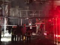 Niğde'de iş yeri yangını