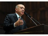 """Cumhurbaşkanı Erdoğan: """"Türkiye'yi köşeye sıkıştırmaya çalışanlara fırsat vermiyoruz"""""""