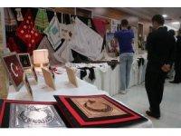 Bolu'da tutuklu ve hükümlülerin el emeği ürünleri sergilendi