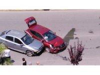 Ordu'da iki araç kafa kafaya çarpıştı: 4 yaralı