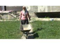 Kadın çiftçi, tarım desteğiyle örnek oluyor