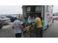 Edirne'deki feci kazada yaralanan 7 kişi Keşan'a getirildi
