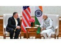 ABD Dışişleri Bakanı Pompeo, Hindistan Başbakanı Modi ile bir araya geldi