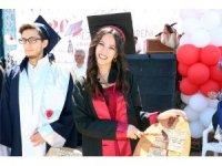 Yozgat Bozok Üniversitesinde mezuniyet heyecanı