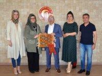Kültürel Miras Anadolu Projesi ekibinden Rektör Prof. Dr. Sedat Murat'a ziyaret