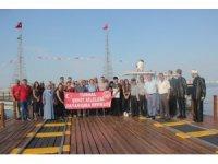 Tokatlı şehit aileleri Samsun'u gezdi