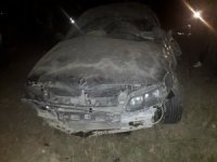 Yoldan çıkan otomobil takla attı: 1 ölü, 3 yaralı