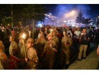 Tokat'ta fener alaylı kutlama