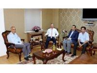 İHA Genel Müdürü Hamit Arvas'tan Rektör Prof. Dr. Levent'e ziyaret