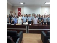 Atatürk Devlet Hastanesi'nde güvenlik görevlileri unutulmadı