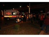 Otomobil engelli motosikletine çarptı: 1 ölü 1 yaralı