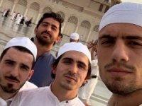 Abdulkadir Ömür ve Melih Demiral Medine'de