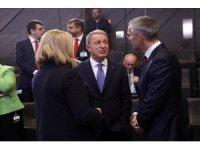 Bakan Akar NATO INF Oturumu'na katıldı