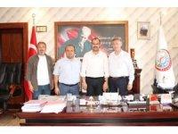 İHA Bölge Müdürü Çorbacı Tosya'da ziyaretlerde bulundu
