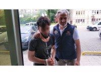 Samsun'da DEAŞ şüphelisi Iraklı adliyede