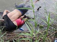 Göçmen baba-kızın dramı... ABD'de dünyayı ağlatan kare!