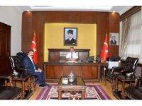 Rektör Köse, Vali Yazıcı'yı ziyaret etti