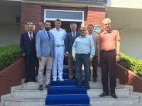 MÜSİAD Yönetimi Karadeniz Bölge Komutanı'nı ziyaret etti