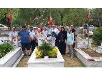Şehit Mehmet Boşnak kabri başında anıldı