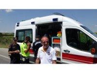 Edirne'de akıl almaz kaza