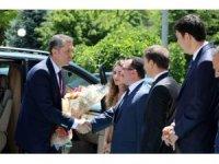 Bakan Selçuk'tan Erzincan Valiliği'ne ziyaret