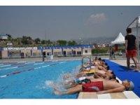 Toroslar'da yüzme kurslarına yoğun ilgi