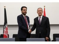 Bakan Akar, Afgan mevkidaşı ile görüştü