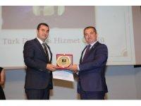 Gaziantep Büyükşehir'e Türk Dünyası Hizmet ödülü