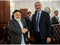 Bakan Gül, Afganistan Adalet Bakanı Enver ile görüştü