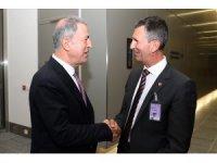 Bakan Akar, Avusturya Savunma Bakanı Starlinger ile görüştü