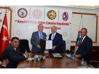 Kırşehirli genç ahiler, çalışma hayatında projesinin protokolü imzalandı