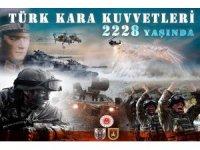 Bakan Akar'dan Türk Kara Kuvvetlerinin kuruluş yıl dönümü mesajı